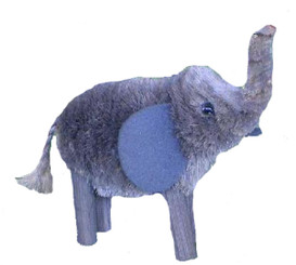 HANDMADE ORNAMENT - GREY ELEPHANT