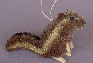 Handmade Ornament - Chipmunk