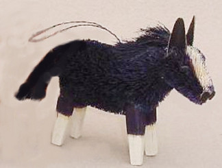 HANDMADE ORNAMENT - BLACK HORSE