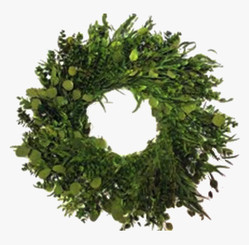 CITRUS BOUQUET WREATH - 17""