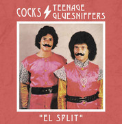 "CD split Cocks / Teenage Gluesniffes ""El Split"""