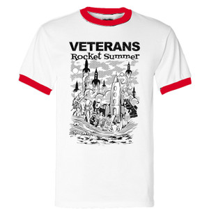 T-shirt Veterans Rocket Summer ringer