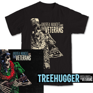 LP + T-SHIRT PACK Andrea Manges And The Veterans