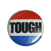 Button Tough punk rock Netherlands Flag