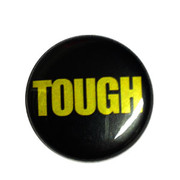 Tough black button