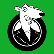 Screeching Weasel logo sticker