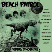 Beach Patrol Riding Dinosaurs