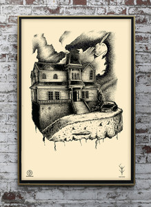 Poster series Houses Of Darkness by Thunderbeard