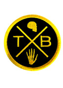 TXB logo Thunderbeard patch by Dario Pepper Maggiore