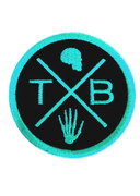 Patch TXB logo [mint] by Thunderbeard