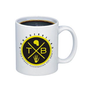 Thunderbeard coffee mug
