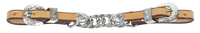 SCHUTZ SHOW CURB w/ SILVER #95001NAT