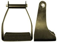 Brown Aluminum Trail Stirrup
