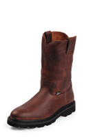 JUSTIN MEN'S WORK BOOT TAN PREMIUM NON-STEEL TOE