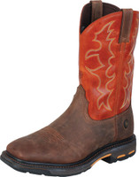 ARIAT MEN'S WORK BOOT WORKHOG SQUARE NON-STEEL TOE