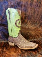 BLACK JACK DIRTY TOBACCO ELEPHANT WITH LIME TOP BOOT