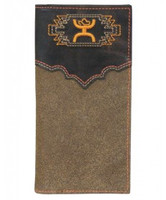 HOOey Orange and Brown Rodeo Wallet