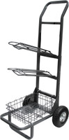 HIGH COUNTRY POWDER COATED SADDLE RACK CART