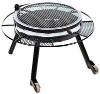 """30"""" FIRE PIT W/GRILL TOP"""