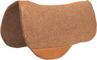 Tan Wool Trail Riding Pad