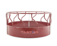 3-PIECE HEAVY-DUTY BULL HAY FEEDER – RED