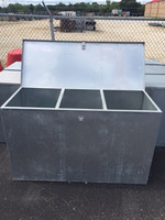 3 COMPARTMENT FEED BIN