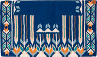 "GOOD MEDICINE GLORY BOUND SADDLE BLANKET 38"" X 34"""