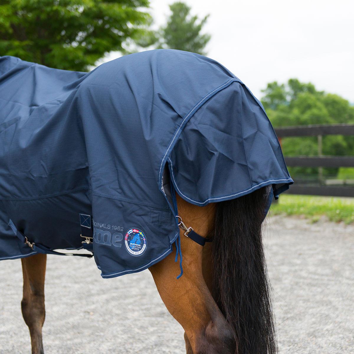 HORZE 1200D RAIN SHEET W/ FLEECE LINING