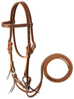 MINI HORSE BRIDLE SET, COMES WITH HEADSTALL, BIT AND REINS.  BY WEAVER.