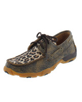 KIDS TWISTED X LEOPARD PRINT DRIVING MOC