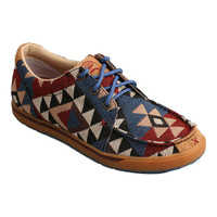 TWISTED X YOUTH CASUAL GRAPHIC PATTERN CANVAS SHOE