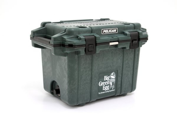 50 QT PELICAN BIG GREEN EGG COOLER - LIMITED EDITION
