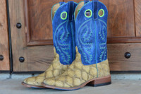 MEN'S ANDERSON BEAN BASS W/ BLUE BUFFALO TOP BOOT FROM DENNARDS