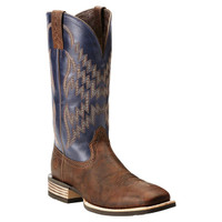 MEN'S ARIAT TYCOON SQUARE TOE ROPER BOOT - FREE SHIPPING