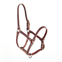 "WEAVER RIVETED 5/8"" WEANLING HALTER"