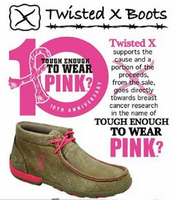 "TWISTED X LACE-UP ""TOUGH ENOUGH TO WEAR' DRIVING MOC - FREE SHIPPING"