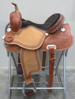 FUTURITY BARREL SADDLE - SEAT 14.5""
