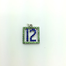 #12 Crystal Pendant 15x15mm