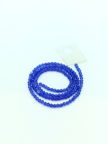 3mm Sapphire Faceted Bicone