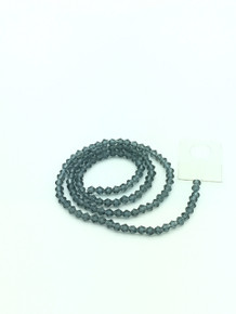 4mm Montana Faceted Bicone
