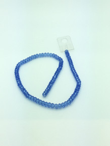 6x5mm Light Sapphire Faceted Rondelle