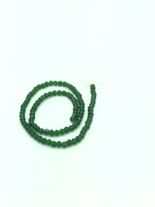 6x5mm Green Tourmaline Faceted Rondelle