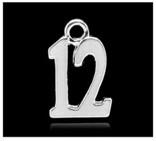 #12 Charm 10x15mm 10 pieces