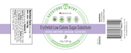 Keystone Pantry - Erythritol Low -Calorie Sugar Substitute 3-Lb Jar