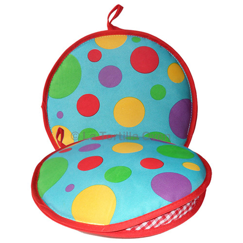 Color Polka Dots Tortilla Warmer