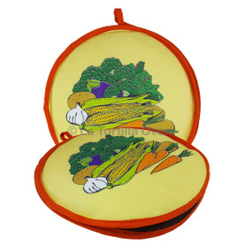 Harvest Orange Trim Tortilla Warmer