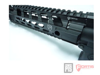 "PTS Fortis REV™ Free Float Rail System 9"" Carbine Cutout"