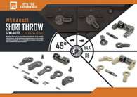 PTS B.A.D. – Ambidextrous Safety Selector – Short Throw (Semi Auto)