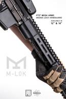 "PTS® Mega Arms Wedge Lock Handguard 12"""