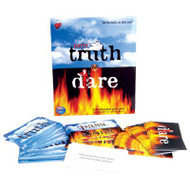 The classic game of truth or dare with a twist! Just roll the die to see your fate. Game Includes: , 1 deck of truth or dare cards. , 12 pass along cards. , Game Instructions. , 1 die.